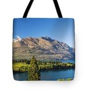 Queenstown Golf Club And Lake Wakatipu Tote Bag