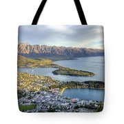 Queenstown Sunset Tote Bag
