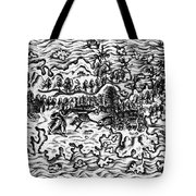 Queiros Voyages, 1613 Tote Bag
