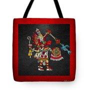 Quetzalcoatl In Human Warrior Form - Codex Magliabechiano Tote Bag