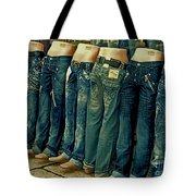 Queued Selling It Tote Bag