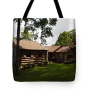 Quiet Cabin On A Hill Tote Bag