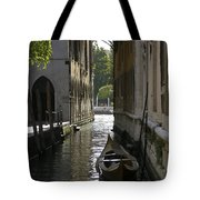 Quiet Canal In Venice Tote Bag
