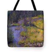 Quiet Creek Tote Bag by Ginny Neece