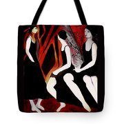 Quiet Desperation Tote Bag