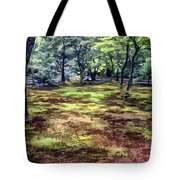 Quiet Forest Tote Bag