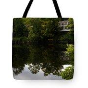 Quiet Lake In The Berkshires Tote Bag