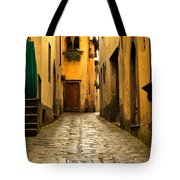 Quiet Lane In Tuscany 1 Tote Bag