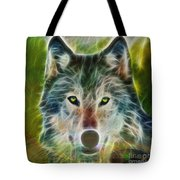 Quiet Majesty - Square Fractalized Version Tote Bag