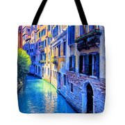 Quiet Morning In Venice Tote Bag