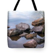 Quiet Morning. Ladoga Lake Tote Bag