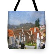 Quiet Neighbors Tote Bag