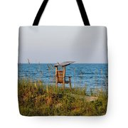 Quiet On The Beach Tote Bag