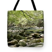 Quiet Place In The Smokies Tote Bag