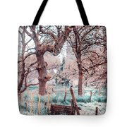 Quiet Place. Nature In Alien Skin Tote Bag