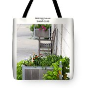 Quiet Resting Places Tote Bag