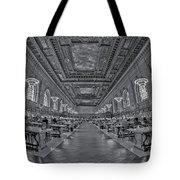 Quiet Room Bw Tote Bag