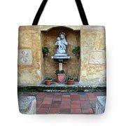 Quiet Square Tote Bag