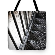 Quiet Stairwell Tote Bag