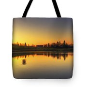 Quiet Sunrise.. Tote Bag