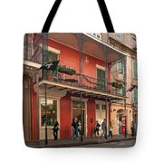 Quiet Time In The Quarter Tote Bag