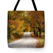 Quiet Vermont Backroad Tote Bag