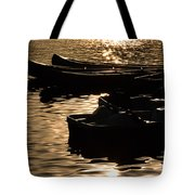 Quiet Waters At Sunset Tote Bag