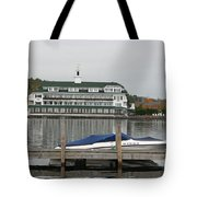 Quiettime At The Lake Tote Bag