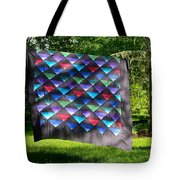 Quilt Top In The Breeze Tote Bag