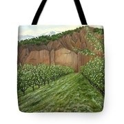 Quince Trees Tote Bag