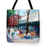 Quincy Market Tote Bag