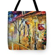 Quite Morning Tote Bag