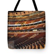 Quite Time Chicago United Center Before The Gates Open 02 Tote Bag