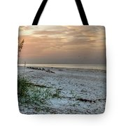 Quite Time On The Beach Tote Bag