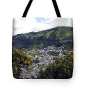 Quito From El Panecillo Tote Bag