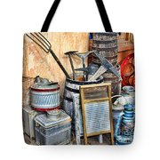 Quitting Time By Diana Sainz Tote Bag