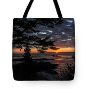 Quoddy Sunrise Tote Bag by Marty Saccone