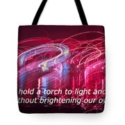 Quote By Ben Sweetland Tote Bag