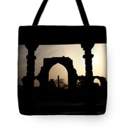 Qutab Minar Complex - New Delhi - India Tote Bag