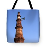 Qutab Minar Minaret - New Delhi - India Tote Bag