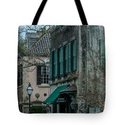 Quuen Street In Charleston Sc Tote Bag