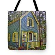 R Blue Heaven In Asbury Grove In South Hamilton-massachusetts Tote Bag