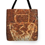 Shaman Petroglyph C Tote Bag