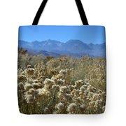 Rabbit Brush Owens Valley Tote Bag