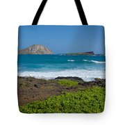 Rabbit Island Tote Bag
