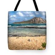 Rabbit Island Tote Bag