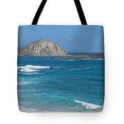 Rabbit Island Panorama Tote Bag