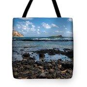 Rabbit Island Tide Pools Tote Bag
