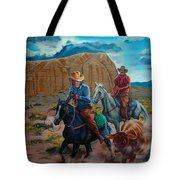 Rabbitbrush Round-up Tote Bag