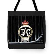 Royal Automobile Club Badge, Victoria Tote Bag